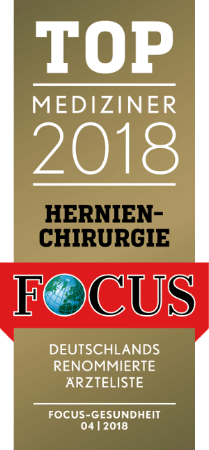 TOP Physician 2018 - Hernien Chirurgie Focus